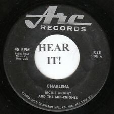 Richie Knight GARAGE Canada 45 (Arc 1028) Charlena/You've Got the Power