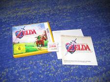 The Legend of Zelda: Ocarina of Time 3d per Nintendo 3ds con istruzioni ecc.