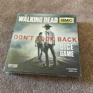 The Walking Dead Dice Game AMC Dont Look Back Cryptozoic Entertainment 15+ NEW