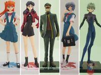 Evangelion SEGA PRIZE PM Figure Asuka, Rei, Misato, Shinji, Kaworu, Ikari   Vari