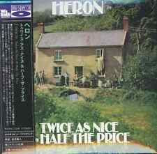 HERON-TWICE AS NICE & HALF THE PRICE-IMPORT MINI LP BLU-SPEC CD w/JAPAN OBI G88