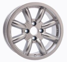 Revolution Rally 9.0x15 8 Spoke Alloy Wheel ET-12 Silver Group4 Escort