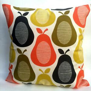 "Orla Kiely Retro Scribble Pear Cushion Cover 14"" 16"" 17"" 18"" inch"