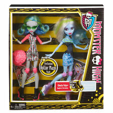 MONSTER HIGH SKULTIMATE ROLLER MAZE~ GHOULIA YELPS & ABBEY BOMINABLE ~ NEW IN PK