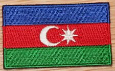 AZERBAIJAN Country Flag Embroidered PATCH
