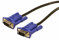 VGA Cable 100ft Male To Male Computer Monitor Projector PC TV Cord 15 PIN