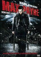 DVD Max Payne (2008) Mark Wahlberg Film Drammatico Mistero Cinema Movie Video
