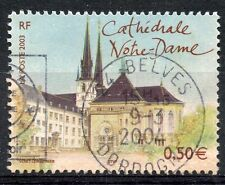 STAMP / TIMBRE FRANCE OBLITERE N° 3624 LUXEMBOURG / photo non contractuelle