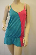 Topshop Ladies Petite Contrast Colour Wrap Top Tunic Vest Size 8 BNWT  (AE)