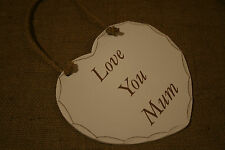 Time to Drink Champagne and Dance on The Table Wooden Heart Plaque