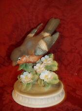 Vintage Lefton Bull Finch Hand Painted Figurine