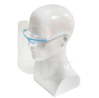 2*Full Face Covering Anti-fog Safety Shield Tool Cover Clear Glasses Eye Helmet