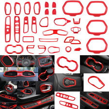 Car Interior Accessory Decoration Trim Frame Cover Dash Kit For Jeep Renegade #y