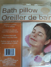 Bath Pillow / Recline with adjusted comfort level /