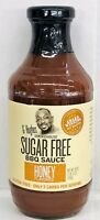 G Hughes Smokehouse Sugar Free Honey Flavored Barbecue Sauce BBQ 18 oz