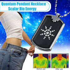 Energy Pendant Scalar Bio Quantum Necklace Protection Lava Chain Balance
