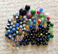 Lot of 125 Plus ESTATE SALE FIND Vintage & Antique Glass Marbles & Shooters