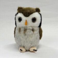 Scops Owl Plush cute & realistic
