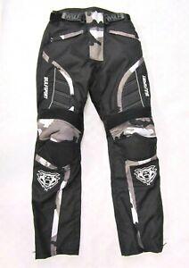 Wulfsport Alpina Camo Adult Pants Armoured Winter Motorbike Motocross MX