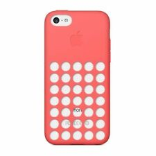 Genuine Apple Dot Silicone Rear Case Cover for Apple iPhone 5C PINK