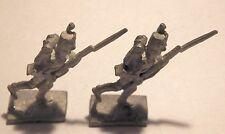 Miniature lead Napoleonic soldiers x 2