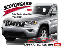 2020 Jeep Grand Cherokee 3M Pro Series Clear Bra Bumper Paint Protection Kit