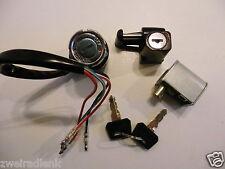 Zündschloss HONDA DAX 6V+12V ST50 ST70 Sitzbank + Helmschloss - ignition lock