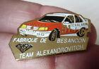 PIN'S VOITURE RALLYE PEUGEOT 309 GTI TEAM ALEXANDROVITCH FABRIQUE DE BESANCON