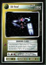 STAR TREK CCG ALTERNATE UNIVERSE RARE CARD EDO VESSEL