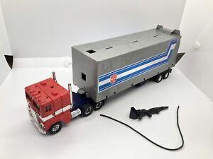 Vintage G1 1980/1982 Takara Optimus Prime W/Trailer