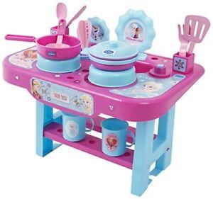 Disney Frozen Girls Kitchen Set Pretend Cooker Role Play Game