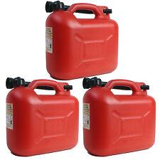 3x Benzinkanister 10 Liter UN Benzin- & Diesel-Kanister Kraftstoffkanister 10L