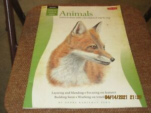 How To Draw and Paint ANIMALS Walter Foster art instruction book