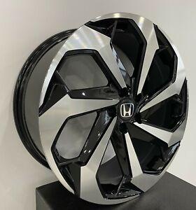 4 654 20 inch Black Machined Rims fits HONDA ACCORD SEDAN SPORT 2017-2020