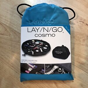 """Lay N Go Cosmo 20"""" Blue 100% polyester"""