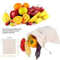 Fruit Grocery Bags Mesh Storage Pouch Vegetable Toys Pocket Kitchen Gadget