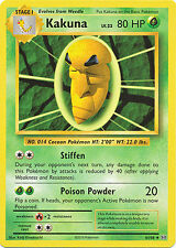 Kakuna Uncommon Pokemon Card XY12 Evolutions 6/108