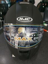 HJC IS-Max BT Flip / Hybrid / Module Helmet - Matt Black, Medium (57-58cm)