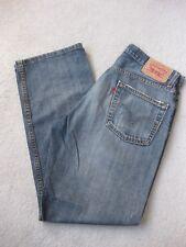 Men's LEVI'S 505 Bleu Jean Jeans Taille W31 L30