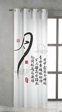 TSUKI KANJI Cortina japonesa con ojales metálicos 150x260 / Japan Curtains