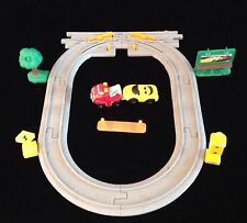 Geotrax Road Track Pack B4337 AND Geotrax Lift n Go Towing B4345 - Complete
