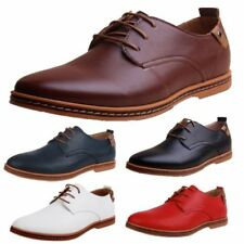 Synthetic Leather Regular Size Round Casual Shoes for Men