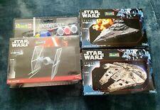 Revell star wars model kits x3