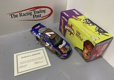 2003 Greg Biffle Kleenex Monsters The Wolfman Action 1:24 Diecast Autographed