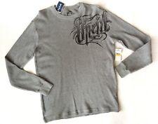 ONeill Sherlock Thermal Gray Pullover Shirt Mens Size M Long Sleeve O'Neill