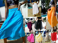 Unbranded Solid Regular Size Skirts for Women