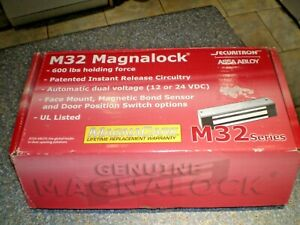 Securitron M32 Magnalock 12 24  Interior Door entry lock 600lb holding force