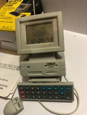 VINTAGE NOVELTY Computer Monitor Shape Calculator-alarm Clock-calendar-RADIO FM