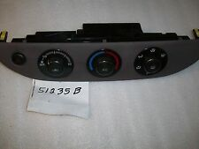 Toyota Camry SE/LE NO Security AC/Heater Control 2002-2006