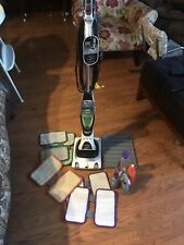 Shark Sonic Duo Hard Floor & Carpet Cleaner with bottles pads and cleaner used